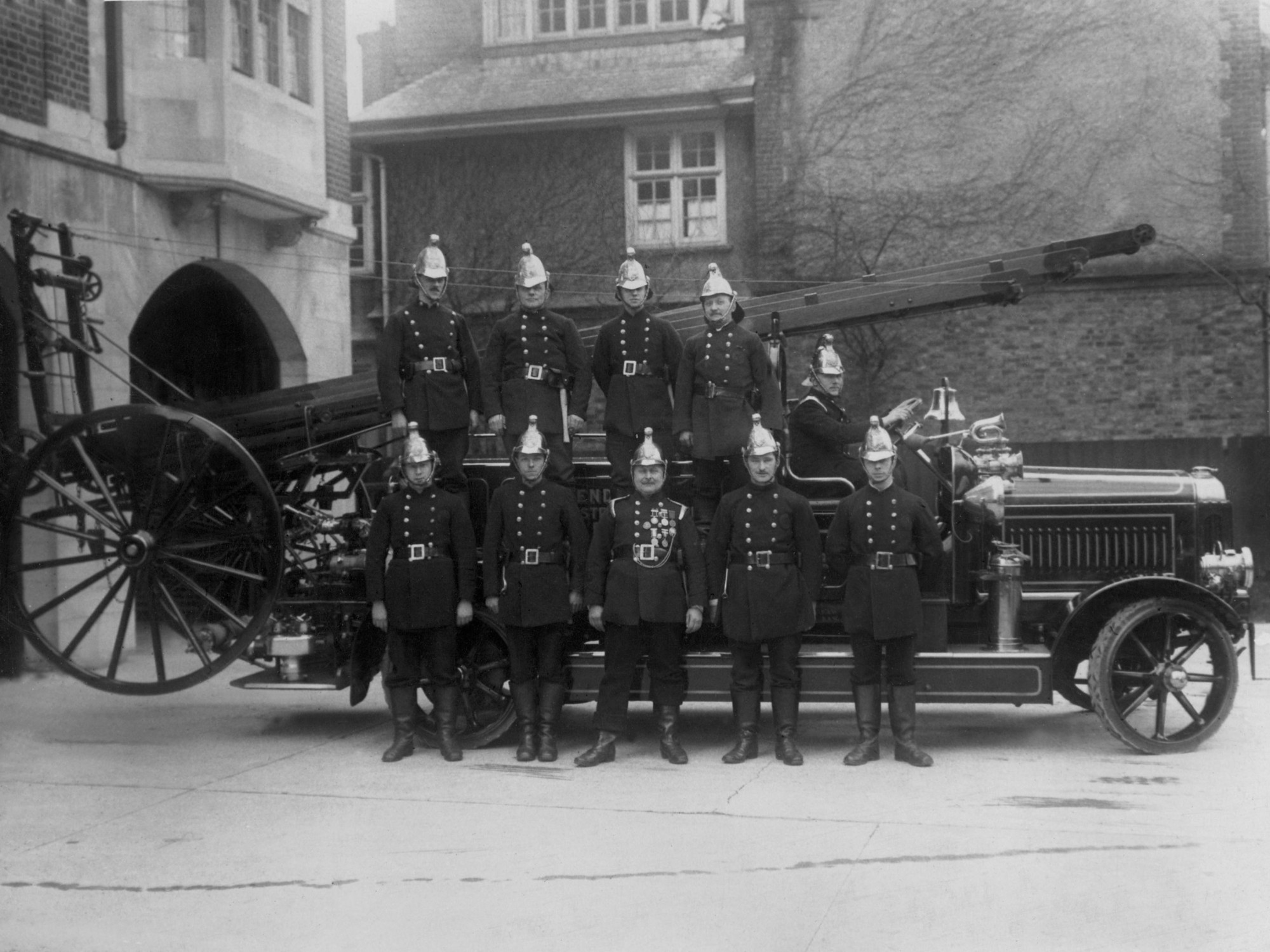 Photos: 100 years of Hendon Fire Station
