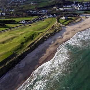 Ballycastle in Northern Ireland, where a seven-year-old boy fell to his death (Environment Department/PA)