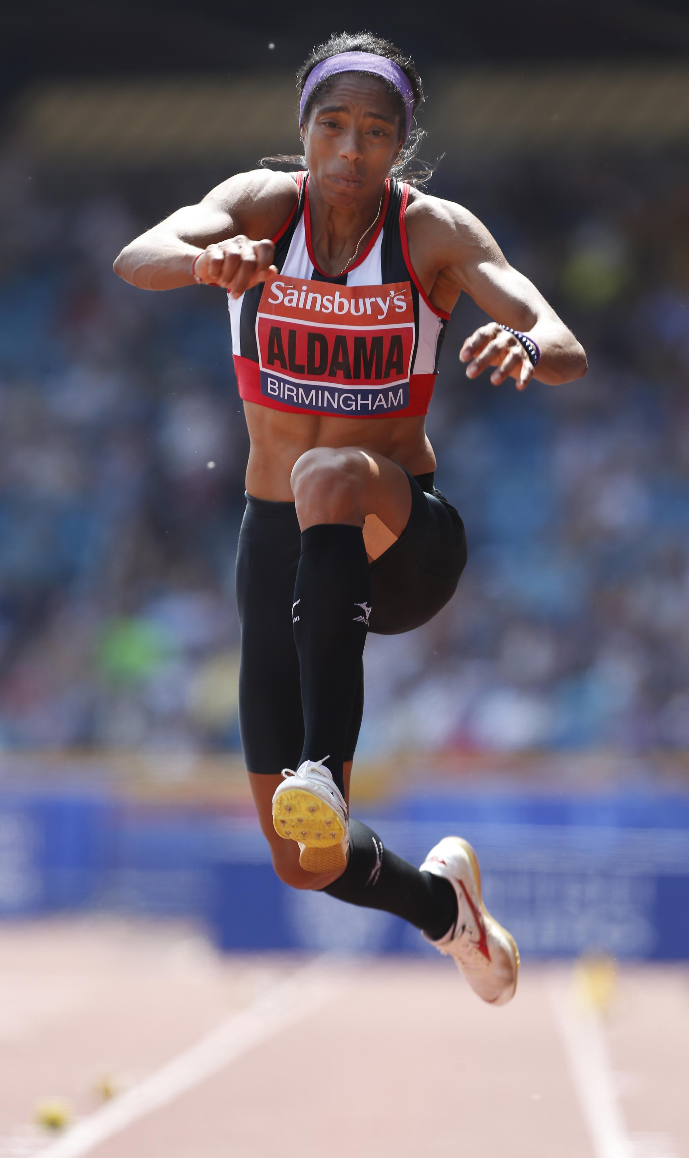 Yamile Aldama could have represented Scotland at the Commonwealth Games. Picture: Acti