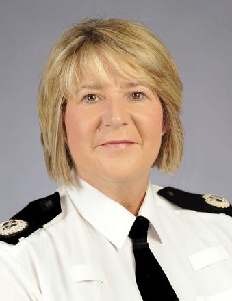 Deputy chief constable Alison Roome-Gifford