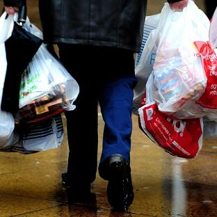 It is hoped the 5p bag charge will reduce litter, cut carbon emissions and reduce waste