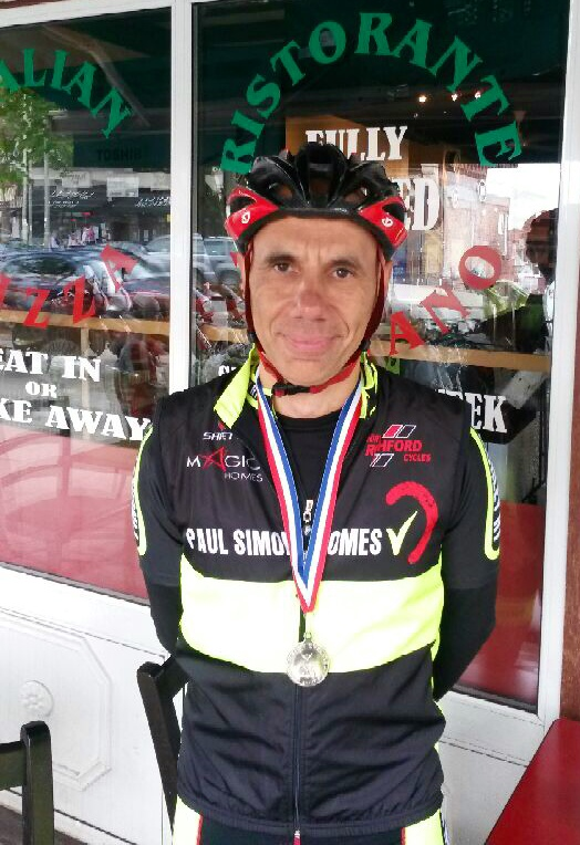 Finchley Racing Team's Pierides takes silver in National Mas