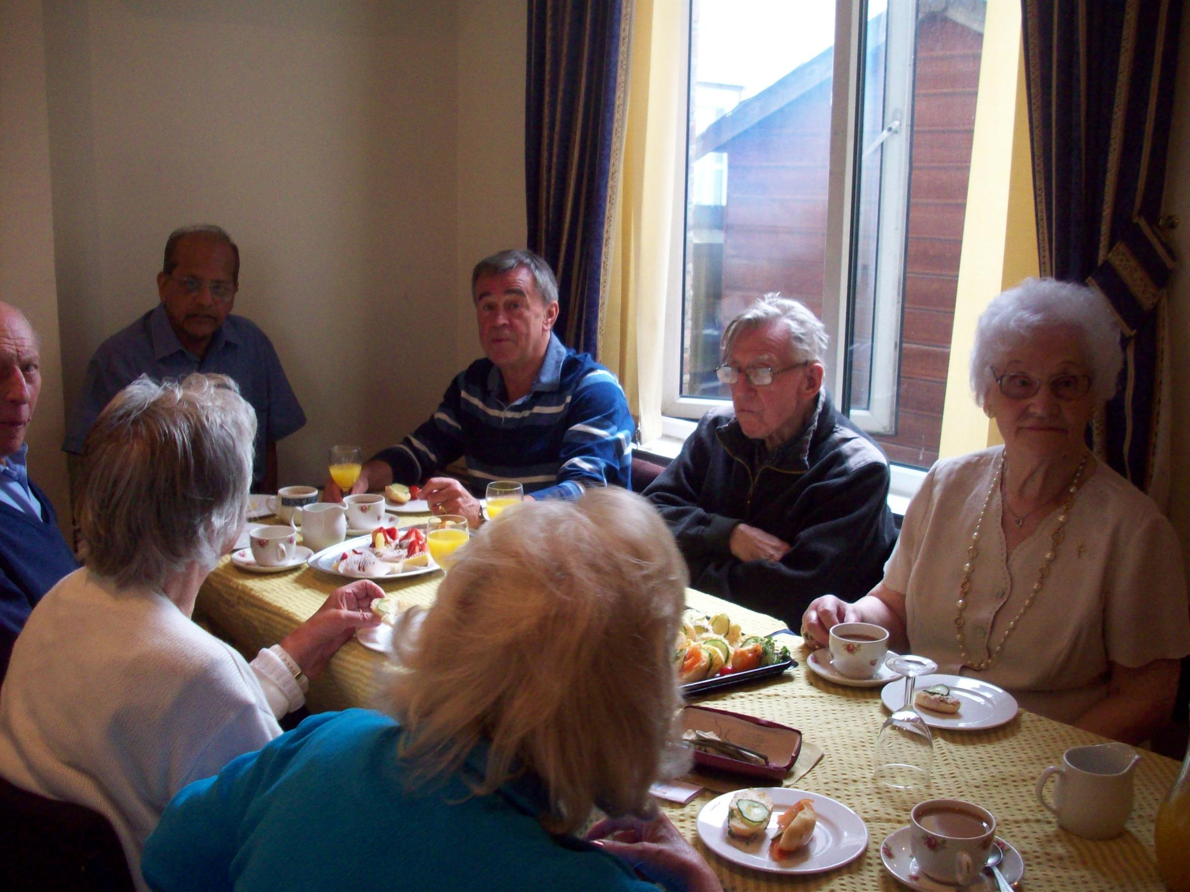 Tea party to help combat loneliness