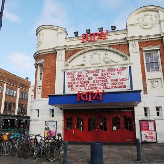 Times Series: Staff at the Ritzy cinema in Brixton, south London, are to strike over pay