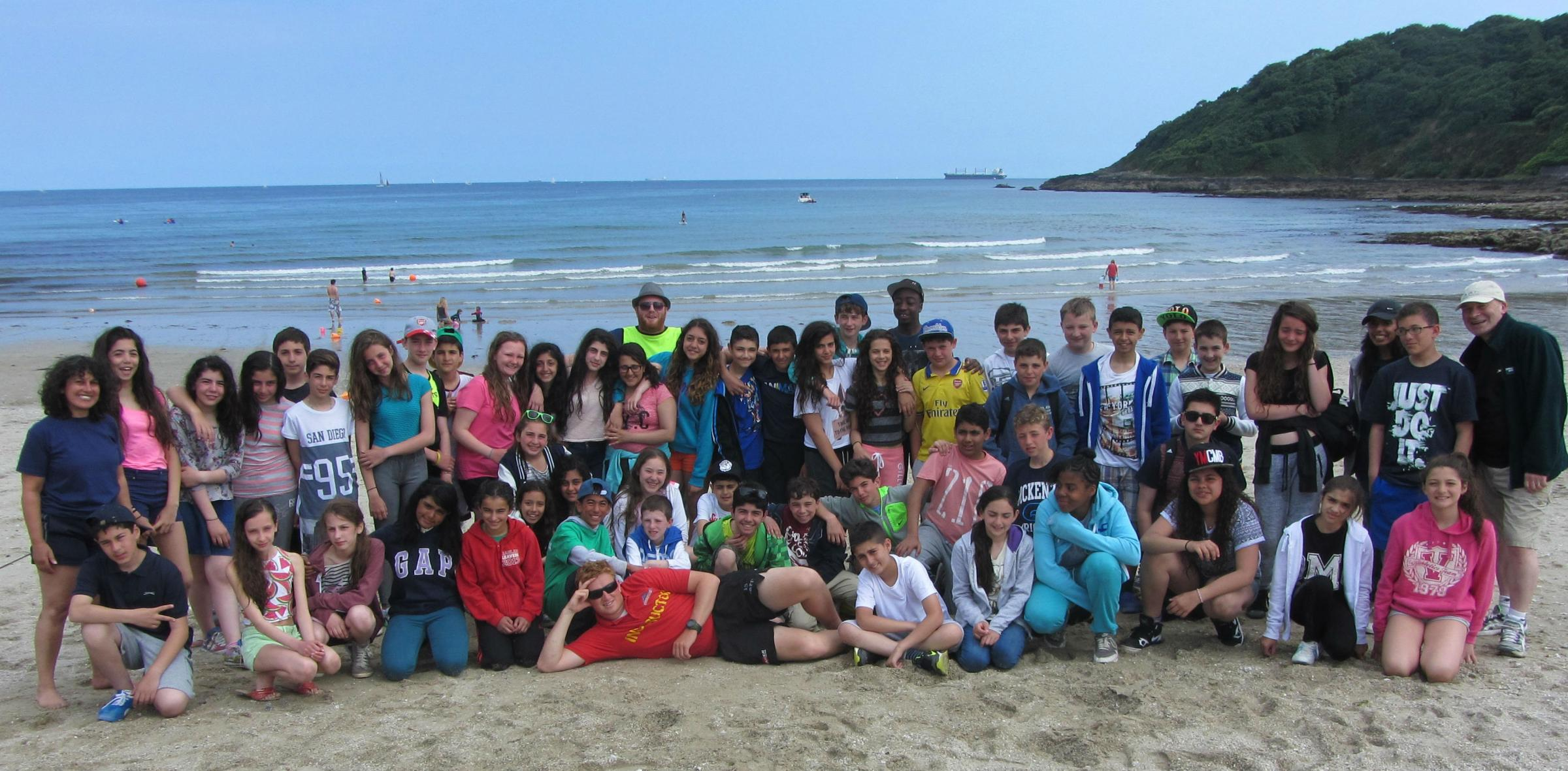 Pupils head to Newquay  for school trip