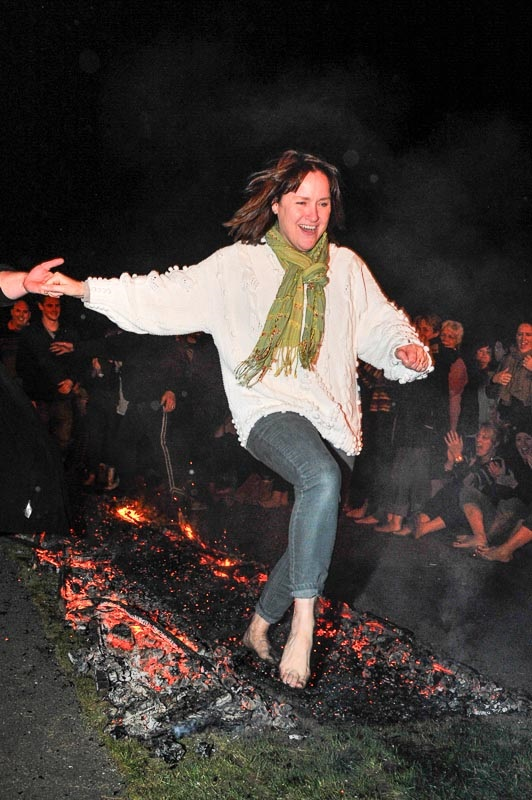 Could you walk over hot coals for charity?