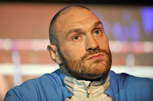 Tyson Fury has dismissed talk of Dereck Chisora knocking him out. Picture: Action Images