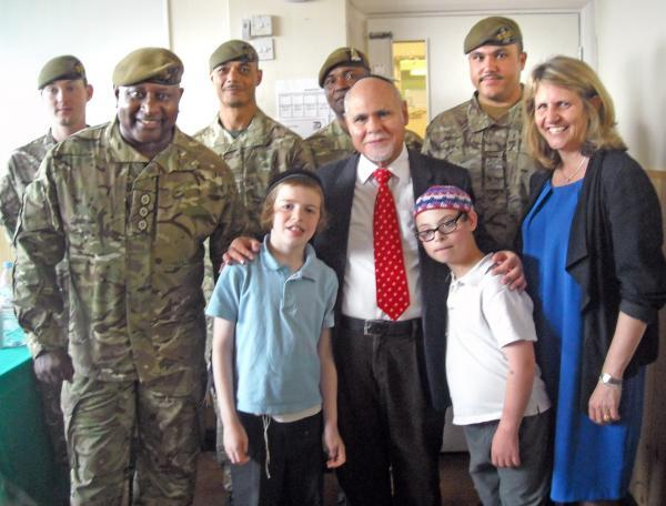 Cash boost for special needs school and soldiers' charity