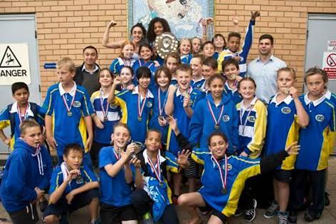 Barnet Copthall swimmers have reached the next phase of the Arena Junior Inter-League.
