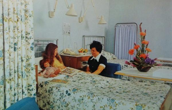 Times Series: A patient room in the 1970s