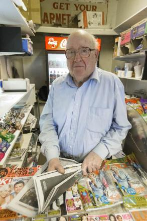 Former Hendon Times delivery boy still hard at work at 85