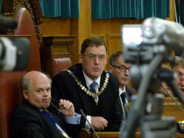 Times Series: Mayor Councillor Rayner chaired the meeting
