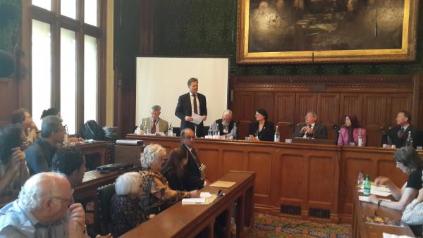 MP Matthew Offord continues to fight for Iranian freedom