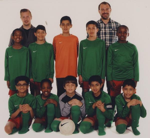 Tudor Primary School football teams enjoy unprecedented success