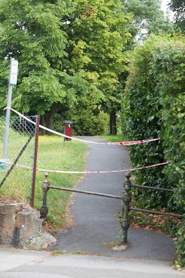 A man's body has been found hanging in Sunny Hill Park