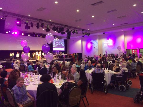 Church welcomes care homes for Celebration of Life event