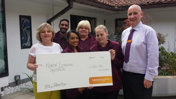 Supermarket to raise cash for hospice