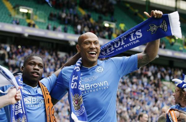 Chris Iwelumo won the Scottish Cup with St Johnstone last season. Picture: Action Images