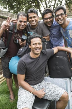 'Nomads on wheels' drive to India to raise money for two charities