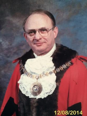 Don Goodman was Mayor of Barnet from 1988 to 1989