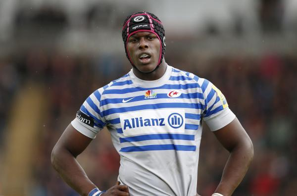 Maro Itoje scored for Saracens. Picture: Action Images