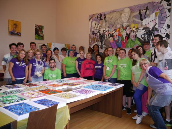 Teenagers with cancer enjoy activity week
