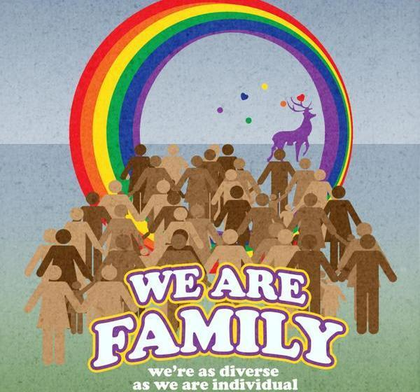 HertsPride 2014 will host the We Are Family event at Cassiobury Park, Watford from 11am on Saturday.