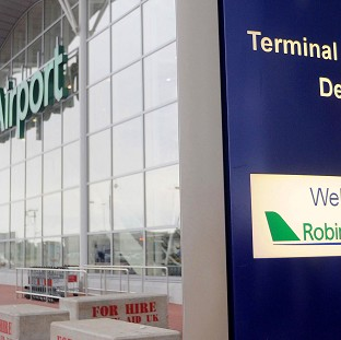 The incident occurred at Robin Hood Airport