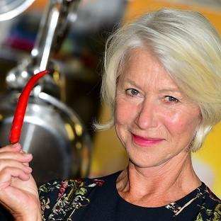 Helen Mirren plays a fierce French restaurant owner in her new film