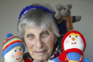 Knitting great-grandmother would 'go crazy' without hobby