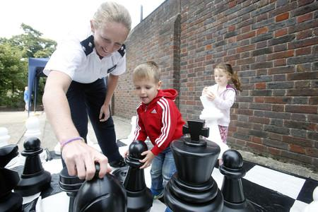 Children flock to police open day