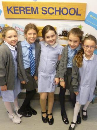 Children celebrate new school year on a high after 'excellent' inspection