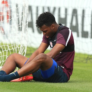 Daniel Sturridge will miss England's match against Switzerland through injury