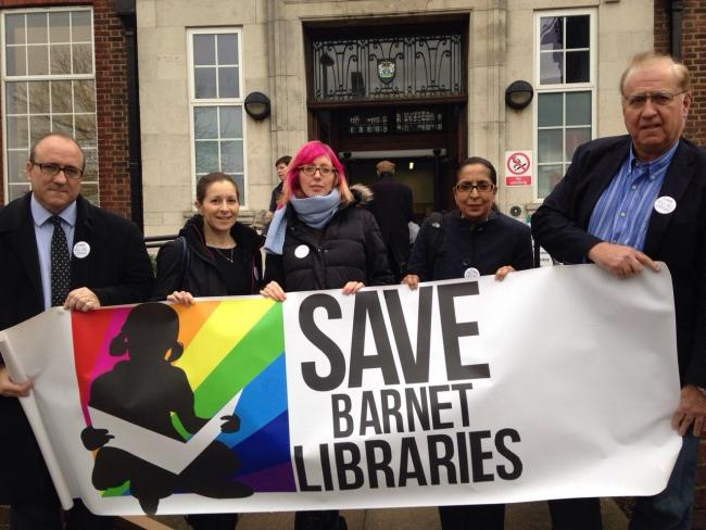 Campaigners are doing their upmost to save the libraries