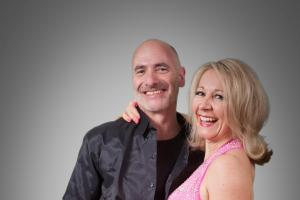 Couple hope to impress with salsa number in Dancing Strictly