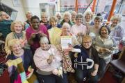 Knitting club raise £500 for charity - one stitch at a time