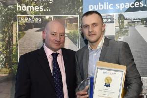 Paving installer recognised at national awards ceremony