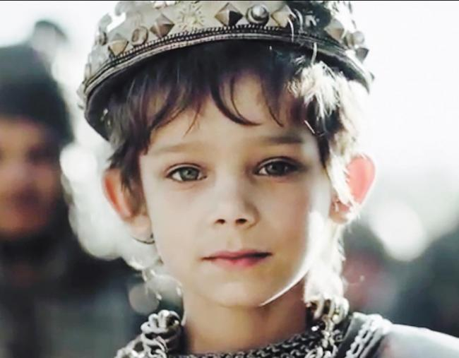 Micah, 6, plays the king in the advert for Yes TV