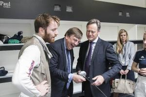 Culture Secretary opens elite training centre for British Fencing
