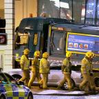 Times Series: Six people were killed when the bin lorry mounted the pavement in Glasgow city centre just before Christmas last year