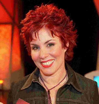 American comedian Ruby Wax will be discussing her book 'Sane New World'