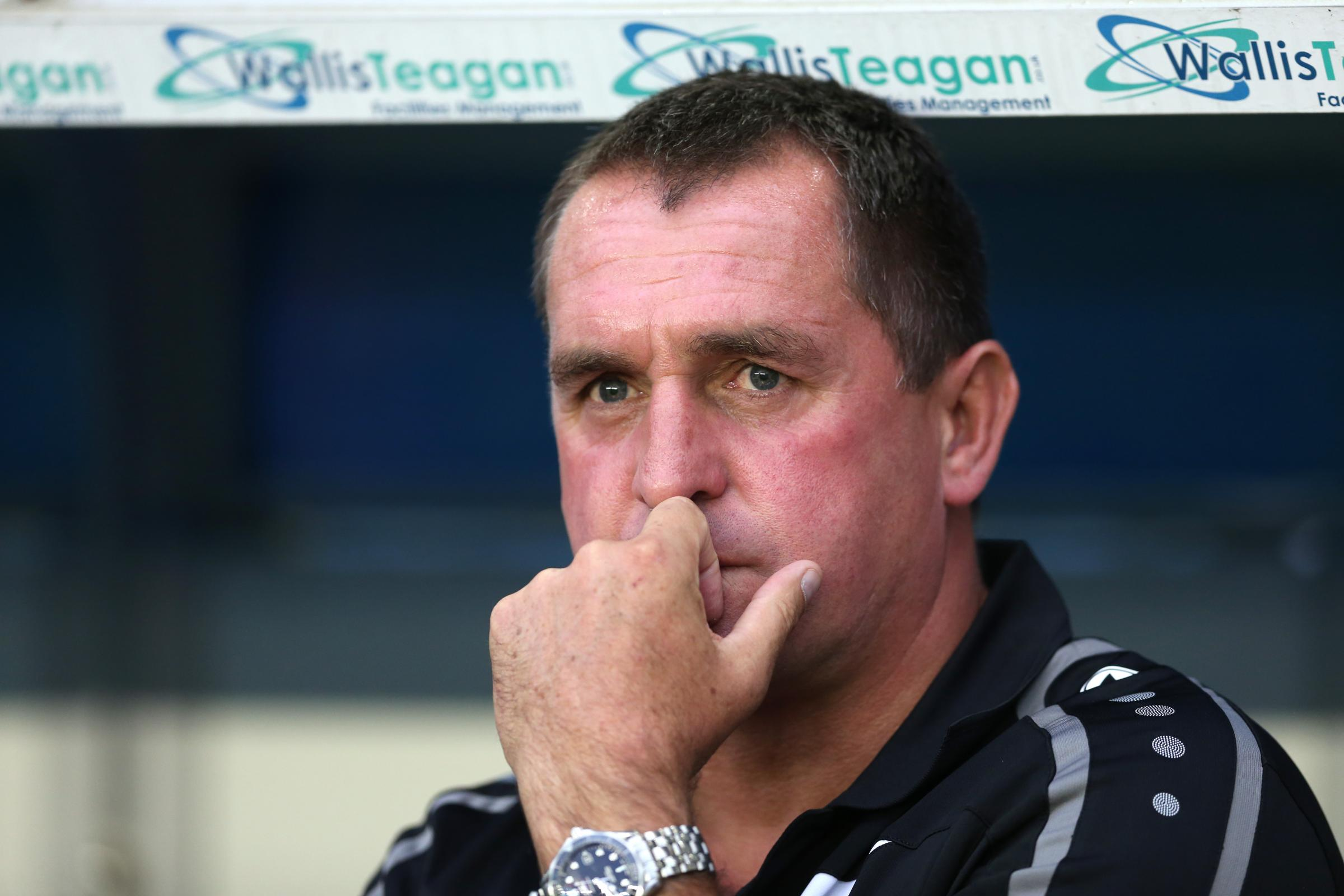 Barnet boss Martin Allen. Picture: Action Images