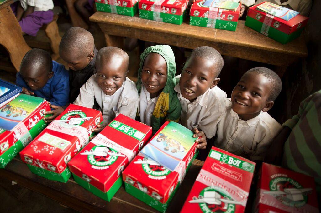 Christmas Shoebox Appeal.Charity Thanks Public For Generosity During Christmas