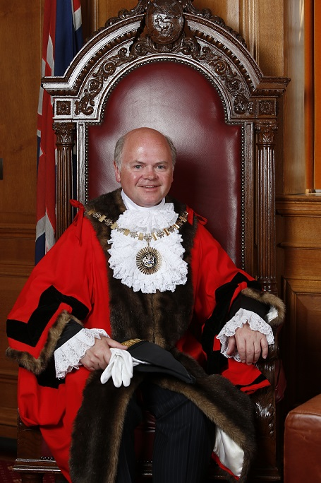 Cllr David Longstaff is Barnet's 52nd mayor