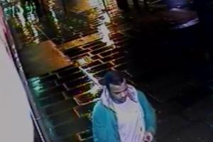 The CCTV image released