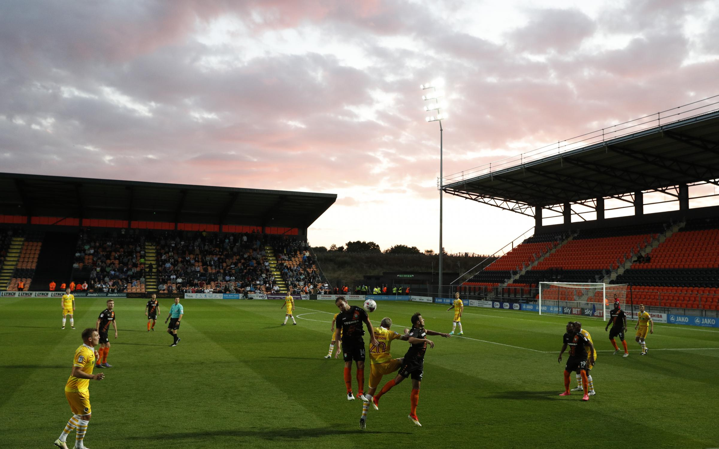Barnet have introduced a ticket offer for next week's double-header. Picture: Action Images