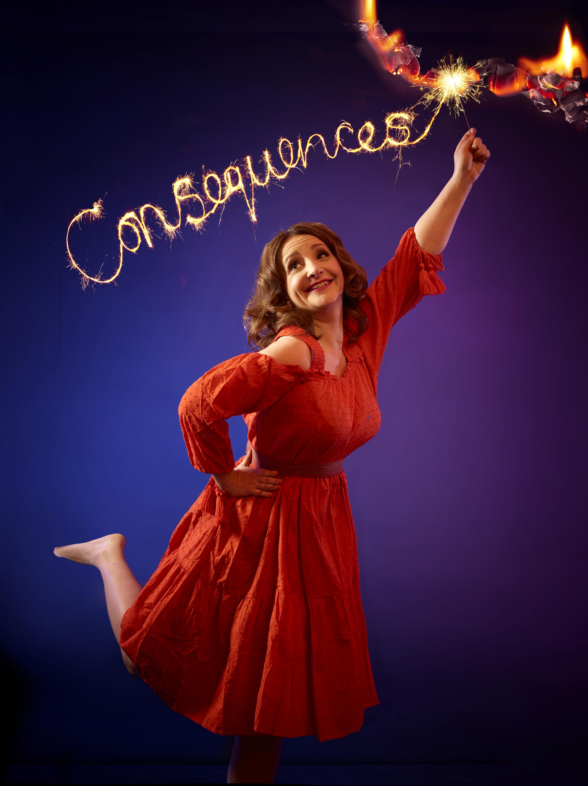 Comedian Lucy Porter