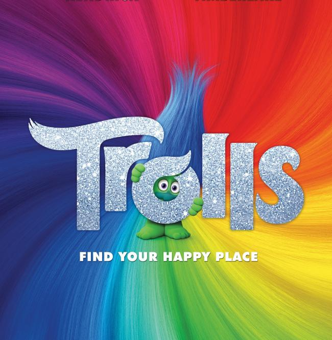Trolls is in cinemas now
