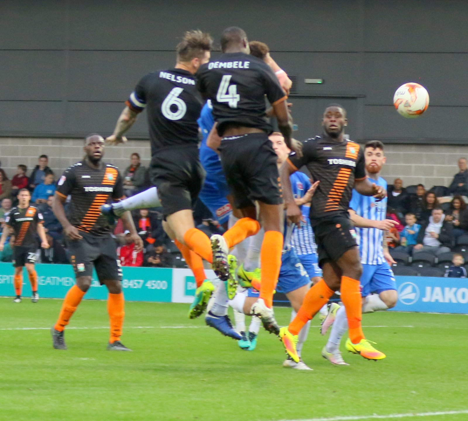 Barnet were unable to follow up their victory over Hartlepool United with FA Cup success. Picture: Len Kerswill