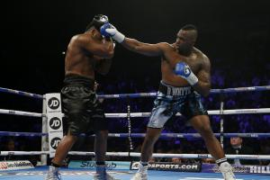 Dereck Chisora faced Dillian Whyte in a classic heavyweight showdown: Action Images